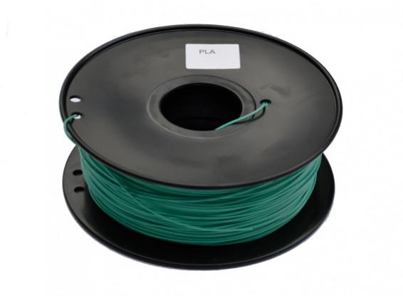 Dipartimento Funzione 3D filamento stampante 1,75 millimetri PLA 1KG spool (cambia colore - verde al giallo)