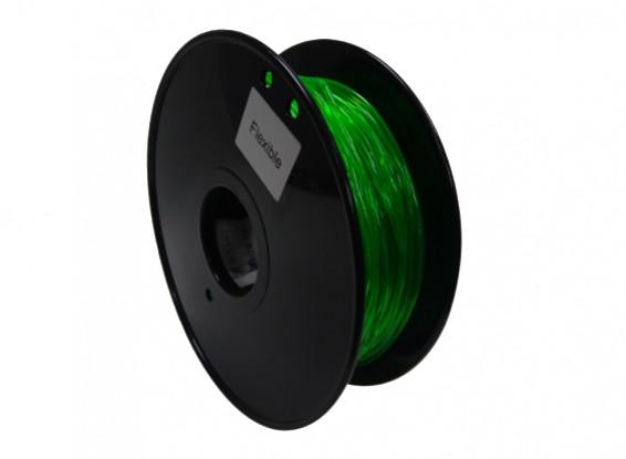 Dipartimento Funzione 3D filamento stampante 1,75 millimetri flessibile 0.8kg spool (verde)