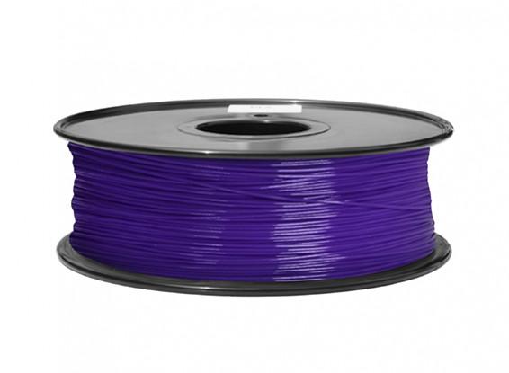 Dipartimento Funzione 3D filamento stampante 1,75 millimetri ABS 1KG spool (P.2617C viola)