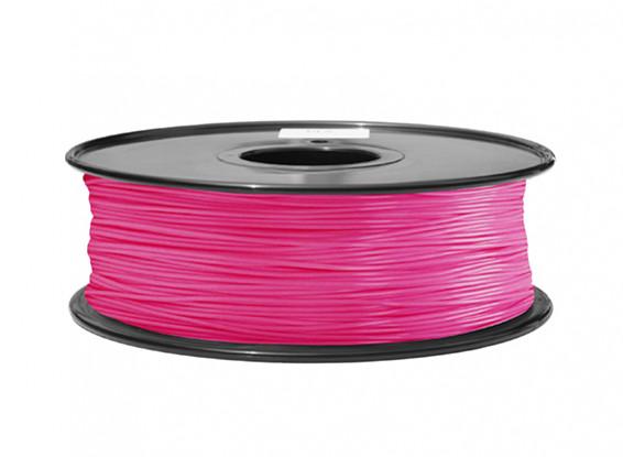 Dipartimento Funzione 3D filamento stampante 1,75 millimetri ABS 1KG spool (Rosa P.213C)