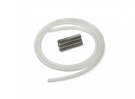 raffreddamento tubo di silicone con acqua di sorgente