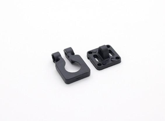 Obiettivo Diatone Montaggio telecamera orientabile per Miniature telecamere (nero)