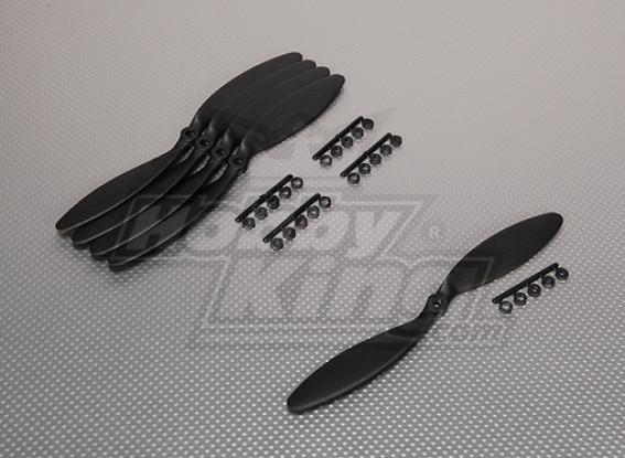 GWS Stile Slowfly Elica 9x3.8 Nero (CCW) (5pcs)