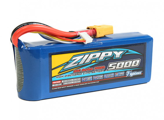 ZIPPY Flightmax 5000mAh 4S1P 30C con XT90