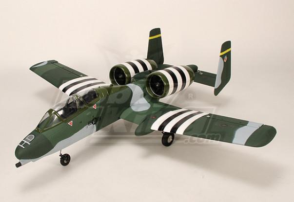 A-10 Warthog da caccia w / Twin 75 millimetri EDF (Plug-n-Fly)