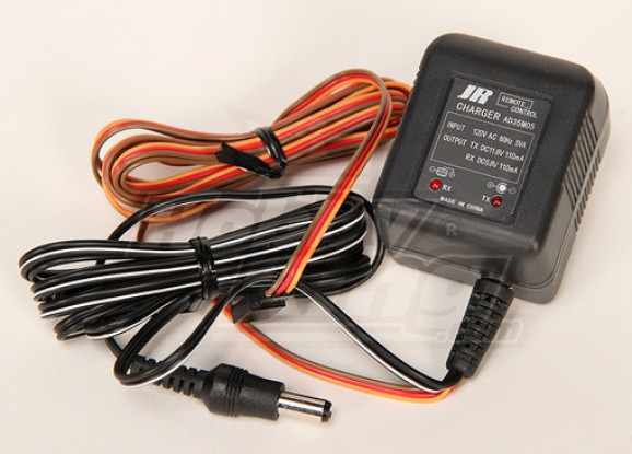 JR Caricabatterie 120V per TX e RX (AD35M05)