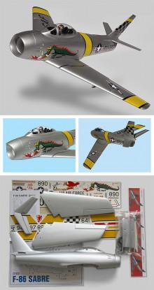 Jet F-86 Sabre canalizzati Fan