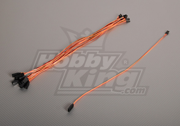 40CM Servo di piombo (JR) 32AWG Ultra Light (10pcs / bag)