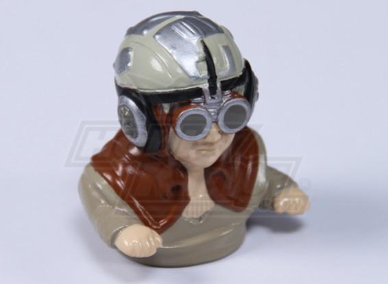 Sc-Fi Pilot Figura (H60 x L55 x D35mm)