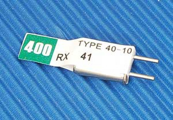 Doppia conversione Rx cristallo 41,190 (50U)