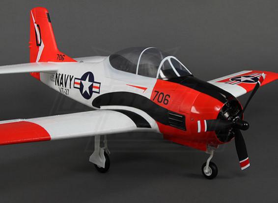Durafly ™ T-28 Trojan w / flaps / ritrae / luci / portelli del carrello 1100 millimetri (PNF)