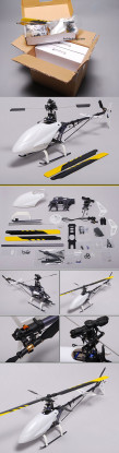 MASSA corredo dell'elicottero BUY HK-450 CCPM 3D elettrico (6pc)