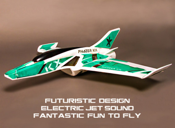 Dipartimento Funzione Pubblica ™ Phazer KX EDF Jet volanti Ala 860 millimetri EPO (KIT)