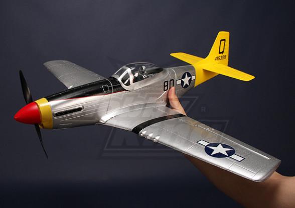 Hobby King Mini P-51D Mustang Parkflyer Plug-n-Fly