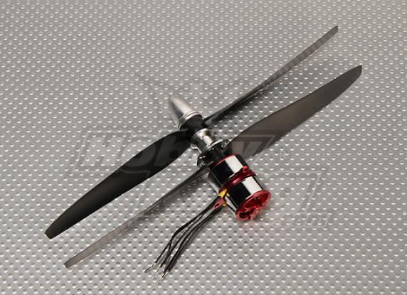 CR23M Contra rotante BL System1550kv