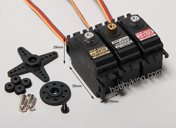 MKS DS9670 preciso Servo digitale 2.22kg / .09sec / 27g