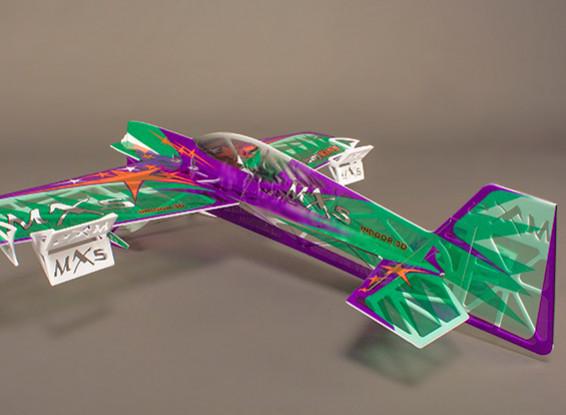 Dipartimento Funzione Pubblica MXS F3P Ultralite EPS coperta dell'aeroplano 3D w / 922 millimetri motore (KIT)