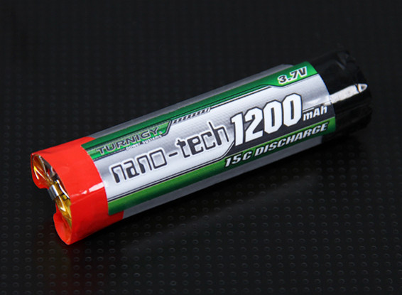 Turnigy nano-tech 1200mAh cellulare 1S 15C rotonda