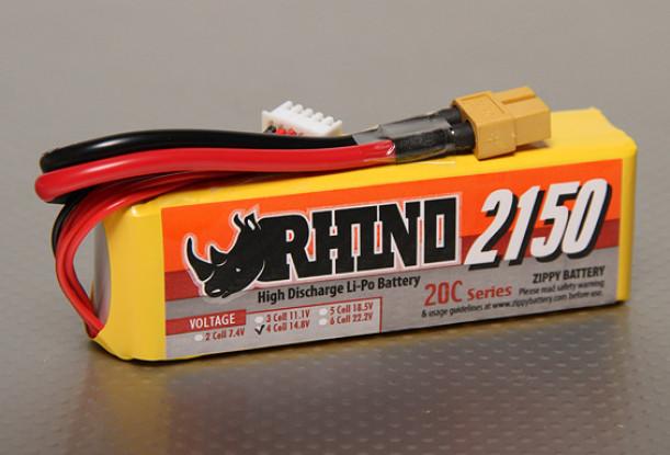 Rhino 2150mAh 4S1P 20C Lipoly Confezione