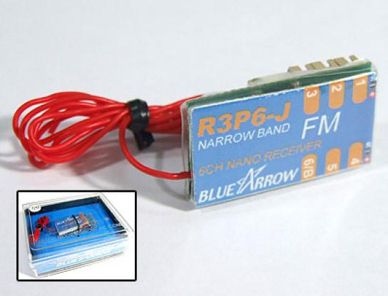 Freccia 6CH 3.8g 72MHz FM Micro Ricevitore