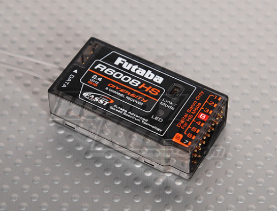Futaba R6008HS 8-Channel 2.4GHz FASST Receiver