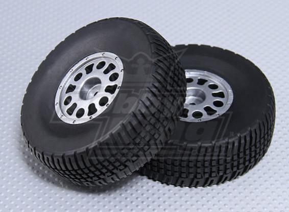 1/10 SCT ruota / pneumatico 12 millimetri Hex
