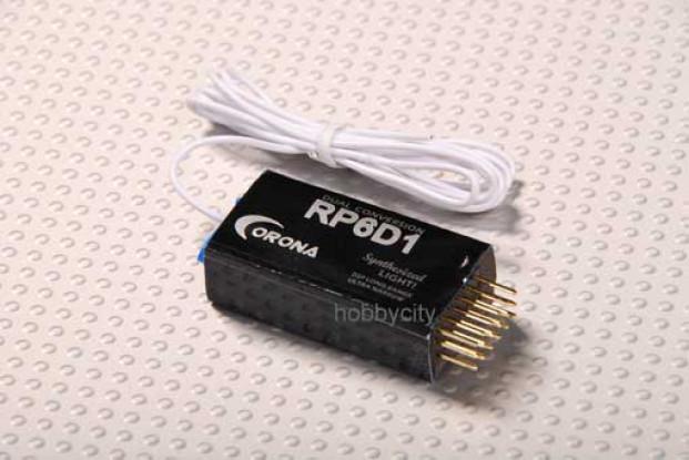 Corona sintetizzato Dual-Conv Ricevitore 6Ch 36Mhz