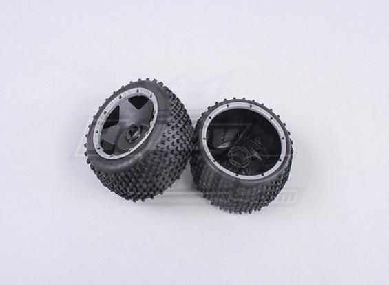 RS260-85023-2 ruota posteriore off-road regolato con l'anello beadlock pesanti (1Pair / Bag)