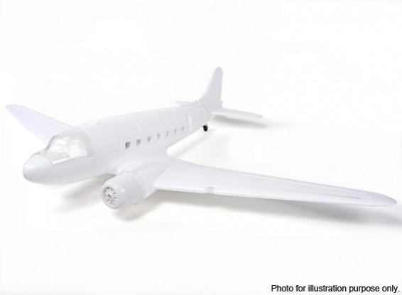SCRATCH / DENT - Dipartimento Funzione Pubblica ™ C-47 / DC-3 EPO Bianco 1600 millimetri (Kit)