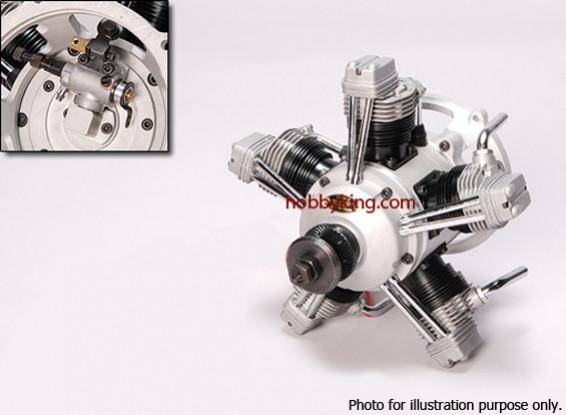 SCRATCH / DENT - ASP FS400AR Four Stroke 5 cilindri Motore di incandescenza