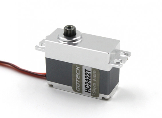 SCRATCH / DENT - Goteck HC2422T HV digitale MG metallo Cased auto Servo 35g / 8.5kg / 0.08sec