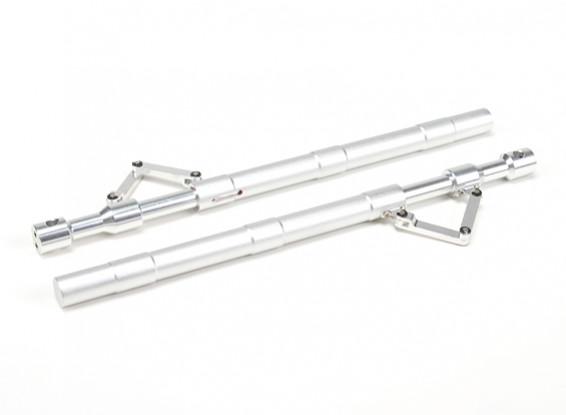 SCRATCH / DENT - lega dritta Oleo Struts con Trailing link 205mm ~ 12.7mm (2 pezzi)