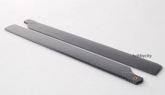 Fibra di carbonio completa 400 lame dimensioni (325 millimetri)