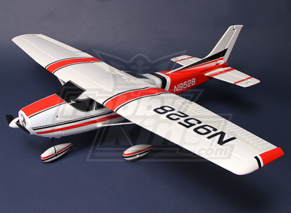 Light Aircraft 182 w / ESC, motore e Servi Plug-and-Fly Deluxe Version