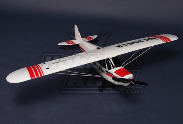 Piper PA-18 Supercub Plug-n-Fly 18A Brushless w / 3 servi EPO