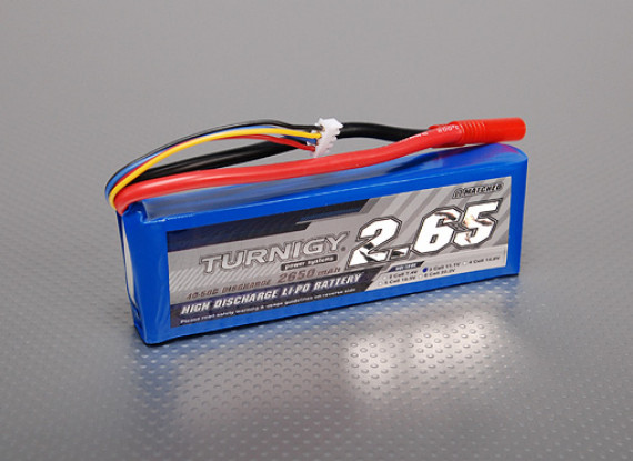 Turnigy 2650mAh 3S 40C Lipo Confezione