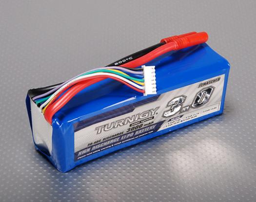 Turnigy 3000mAh 6S 30C Lipo Confezione