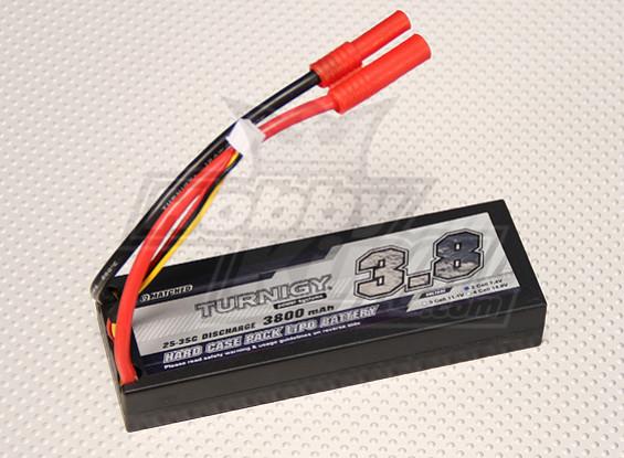 Turnigy 3800mAh 2S1P 7.4V 25C Hardcase Confezione