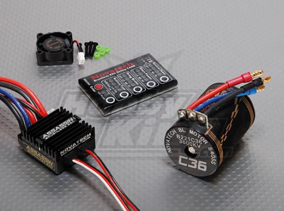 3600kv Brushless Power System Car / 35A