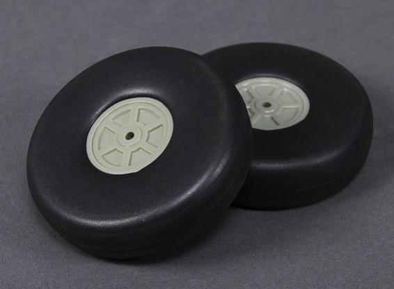 100 millimetri ruote Lightweight Scale (2pc)