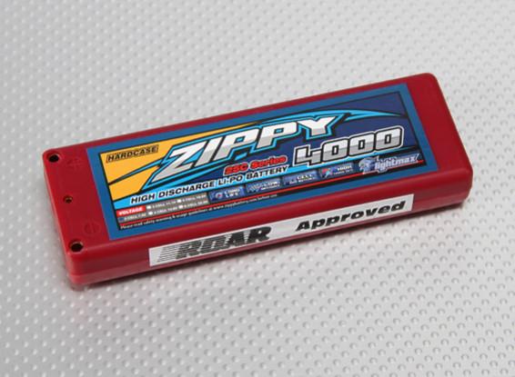 ZIPPY Flightmax 4000mAh 2S1P 25C auto Lipoly (ROAR approvato)