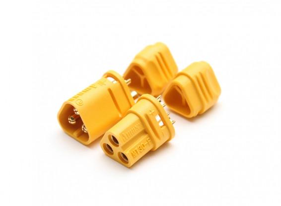 MT30-3-Pole-Motor-ESC-Connector-Set-16AWG-Male-Female-4-sets-015000221-0-1