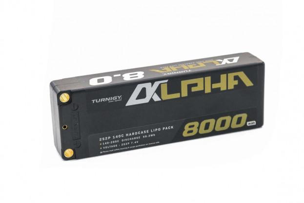 Turnigy Alpha 8000mAh 2S2P 140C Premium Hardcase Lipo Battery Pack (ROAR Approved) 1