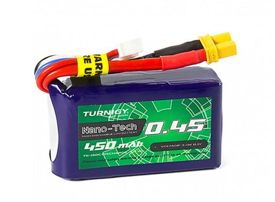 Turnigy-Nano-Tech-Plus-450mAh-3S-70C-Lipo-Pack-w-XT30-9210000304-0