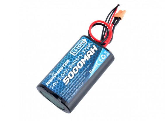 Batteria agli ioni di litio RADIOMASTER 5000mAh 2S per trasmettitore multiprotocollo TX16S 2,4 GHz