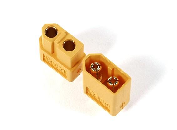 Dilwe Spina di conversione XT90 Maschio a XT60 Femmina Spina Adattatore connettore per Aereo Modello