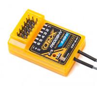 2.4GHz FASST compatibili 6CH dimensioni del ricevitore: 35.5x23.3x12.7mm