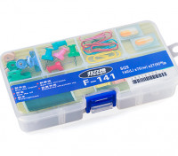 Medium 8 Compartment Parts Box with Latching Lid