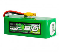 Multistar High Capacity 8000mAh 6S 12C Multi-Rotor Lipo Pack w/XT90