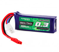 Turnigy Nano-Tech 300mAh 2S 70C Lipo Pack (HR Technology)